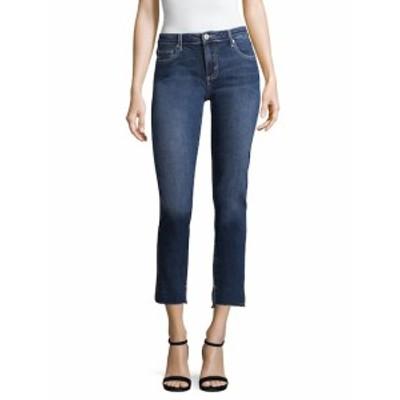 ファース レディース パンツ デニム Floral Embroidery Cotton Jeans