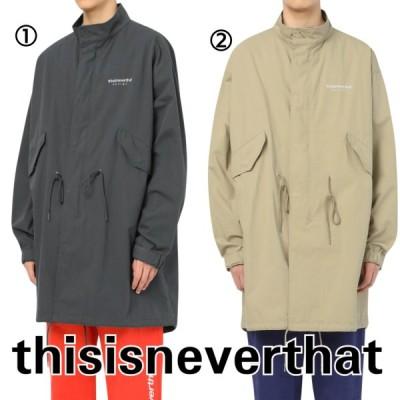 ネバザ ジャケット パーカー メンズ グレー ベージュ thisisneverthat 韓国ブランド