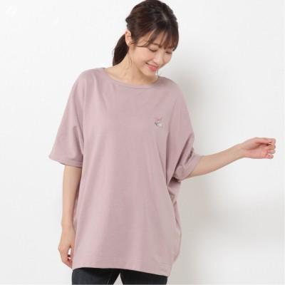 【CONVERSE】ミニ裏毛ドルマンTシャツ(コンバース/CONVERSE)