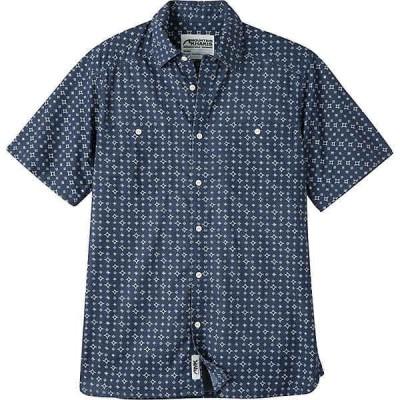 マウンテンカーキス シャツ メンズ トップス Mountain Khakis Men's Ace Indigo SS Shirt Indigo Print