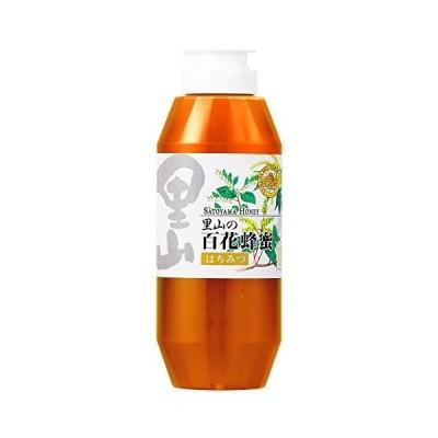 里山の百花蜂蜜国産 500gプラ容器入