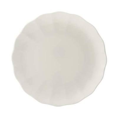 17.5cmラウンド プレート 皿 ノーブルホワイト ホワイト 17cm パ