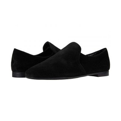 Aquatalia アクアタリア レディース 女性用 シューズ 靴 ローファー ボートシューズ Revy - Black Dress Suede