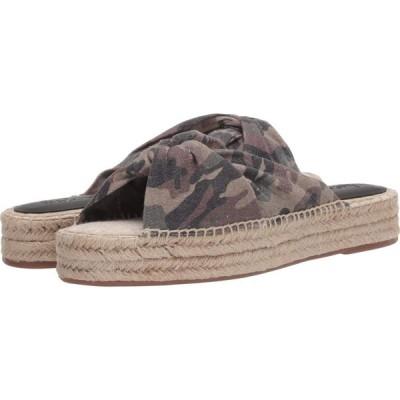 スプレンディッド Splendid レディース サンダル・ミュール シューズ・靴 Albany Camouflage Canvas