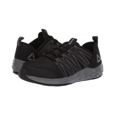 Reebok Work リーボック レディース 女性用 シューズ 靴 スニーカー 運動靴 Astroride Work - Black/Dark Grey