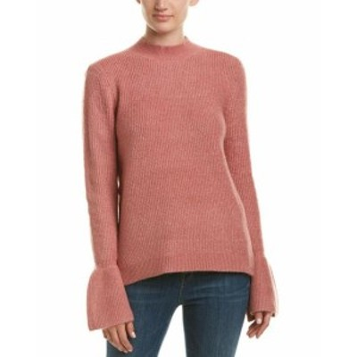 ファッション トップス Free Generation Bell-Sleeve Sweater M Pink