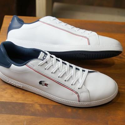 ラコステ LACOSTE メンズ グラデュエーション M GRADUATE 119 3 スニーカー 靴 WHT NVY RED ホワイト系 SMA0022-407