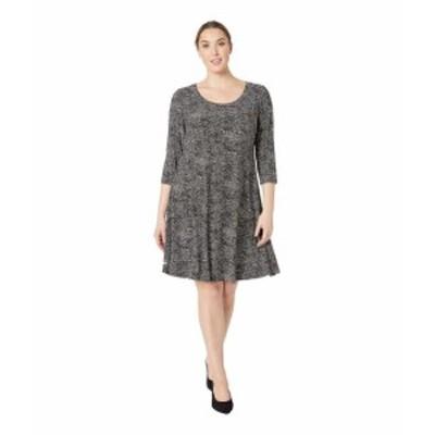 Anne Klein アンクライン ドレス 一般 Plus Size Ity Long Sleeve Shirtdress