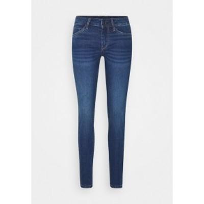 ペペジーンズ レディース デニムパンツ ボトムス SOHO - Slim fit jeans - blue denim blue denim