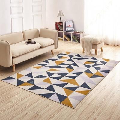 カーペット ラグ マット 絨毯 洗える 低反発 北欧 柔らかい 折り畳み ホットカーペット対応 防ダニ 手触り 耐摩耗性 ホール リビング ベッドルーム