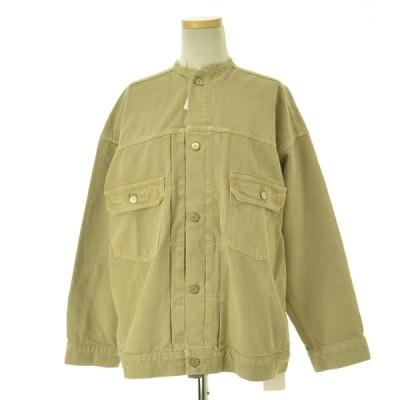 IENA / イエナ 20SS カラー チノリメイクルーズブルゾン デニムジャケット