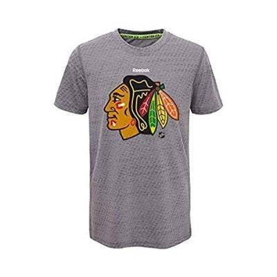 """Chicago BlackhawksリーボックYouth S/S"""" TNT""""ファッションパフォーマンスTee US サイズ: XL 並行輸入品"""