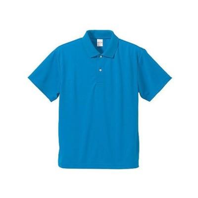 ポロシャツ メンズ レディース 半袖 シャツ ブランド ドライ 無地 大きい サイズ UVカット スポーツ 人気 トップス 男 女 速乾 xs s m l 2l 3l 4l 5l 青 色 丈夫