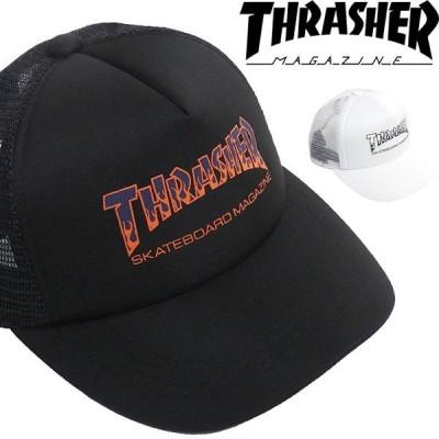 THRASHER スラッシャー  メッシュキャップ ロゴ  帽子 19TH-C13