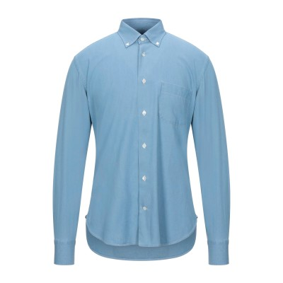 ダノリス DANOLIS シャツ ブルー 40 コットン 100% シャツ