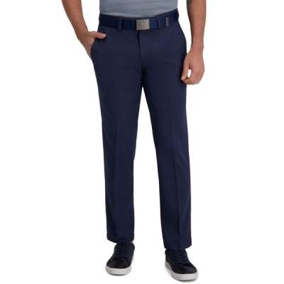 ハガー メンズ カジュアルパンツ ボトムス Cool Right Performance Flex Straight Fit Flat Front Pant