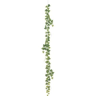 屋外対応 アイビー ガーランド 全長1.8m 2本セット (造花 人工観葉植物 フェイクグリーン インテリアグリーン おしゃれ)