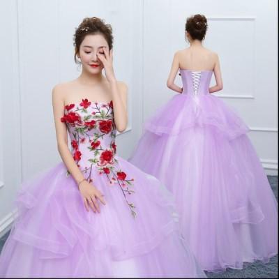 パーティードレス 演奏会 発表用 ウェディングドレス ピアノ 結婚式 イブニングドレス ロングドレス お洒落きれいめ お嬢様 タイトワンピース レディース 二次会