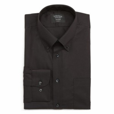 ノードストローム NORDSTROM MENS SHOP メンズ シャツ トップス Classic Fit Non-Iron Dress Shirt Black