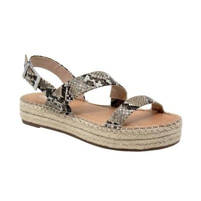 チャールズ・デイビッド サンダル シューズ レディース Chosen Flatform Sandals Taupe