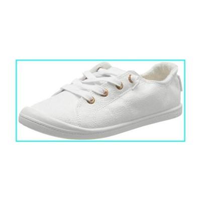 Roxy Women's Low-Top Sneakers, White White Aurora Hau, 9.5 us