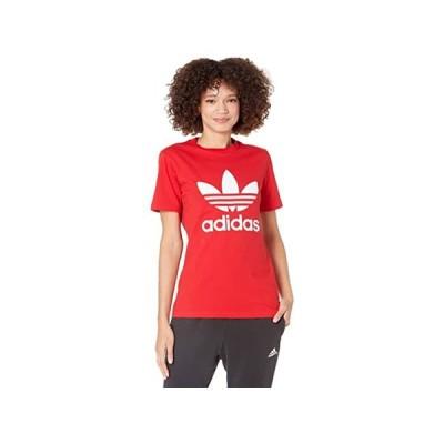 (取寄)アディダス オリジナルス レディース トレフォイル ティー adidas Originals Women's Trefoil Tee Scarlet