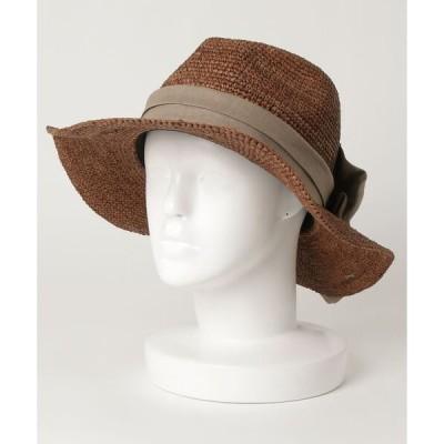 帽子 ハット CONTROL FREAK / リボン つば広 ハット
