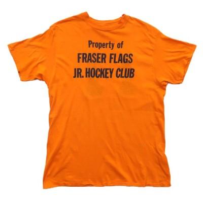USA製 ナンバー プリントTシャツ ナンバリング 裾袖シングル サイズ表記:XL