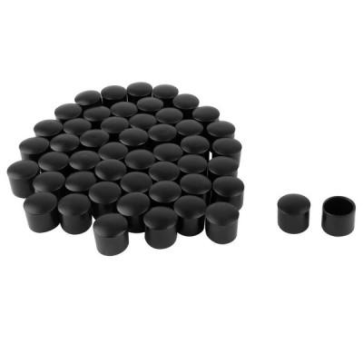 uxcell 家具保護パッド 机用 ベンチ用 PVC レッグキャップ 先端カップ フットカバー 内径13mm 50個入り