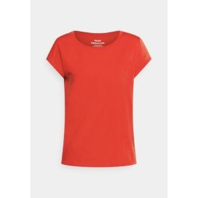 マッズ ノーガード レディース Tシャツ トップス FAVORITE TEASY - Basic T-shirt - fiery red fiery red