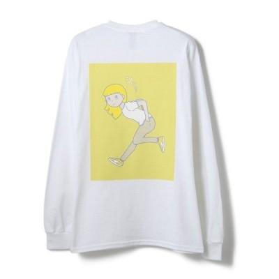 tシャツ Tシャツ ALARME GALLERY/アラームギャラリー/mm T-SHIRT/ロングスリーブTシャツ
