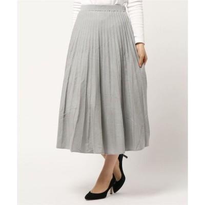 スカート ニットプリーツスカート