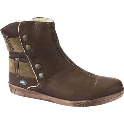 クラウド CLOUD レディース ブーツ シューズ・靴 Aline Boot Wool Lining Dark Brown