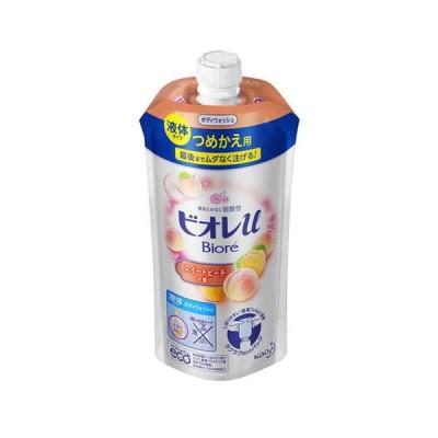 24個 セット 花王 ビオレu スイートピーチの香り つめかえ用 340ml