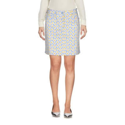 LOVE MOSCHINO ミニスカート ファッション  レディースファッション  ボトムス  スカート  ロング、マキシ丈スカート アジュールブルー