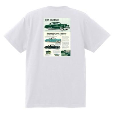 アドバタイジング ビュイック 315 白 Tシャツ 黒地へ変更可能  1951 スーパー リビエラ センチュリー ロードマスター オールディーズ