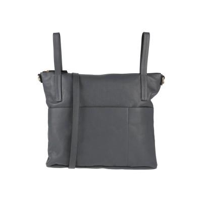マルニ MARNI ハンドバッグ 鉛色 革 ハンドバッグ