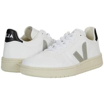 VEJA V-10 レディース スニーカー White/Oxford Grey/Black