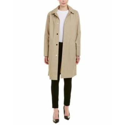 Mack  ファッション 衣類 Jane Post Hooded Mack Coat