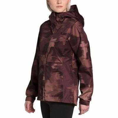 (取寄)ノースフェイス ベンチャー 2 ジャケット - ウィメンズ The North Face Venture 2 Jacket - Women's Marron Purple Vapor Ikat Print