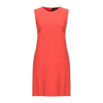 レ コパン LES COPAINS ミニワンピース&ドレス 赤茶色 40 レーヨン 70% / ポリエステル 30% ミニワンピース&ドレス