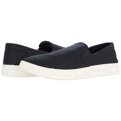クイックシルバー Harbor Wharf Slip-On メンズ スニーカー 靴 シューズ Black/Black/White