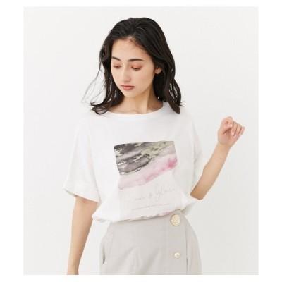 tシャツ Tシャツ ストーンアートロゴTシャツ