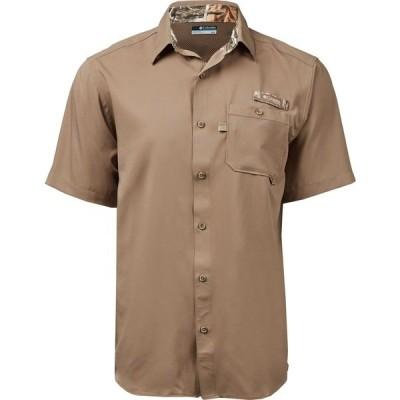 コロンビア シャツ トップス メンズ Columbia Sportswear Men's Bucktail Woven Shirt Flax