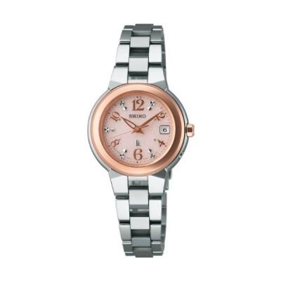 [セイコーウォッチ] 腕時計 ルキア ソーラー電波修正 サファイアガラス サブマスコミモデル SSQW016 シルバー