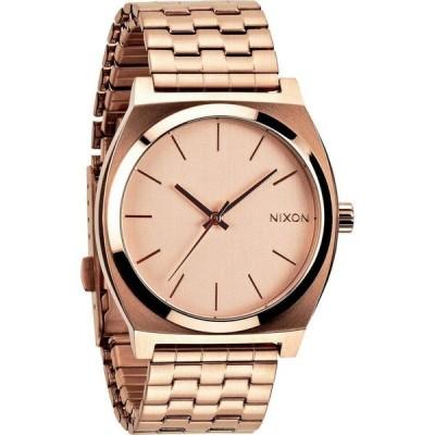 ニクソン NIXON メンズ 腕時計 The Time Teller Watch, 37mm Rose Gold