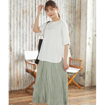 (Honeys/ハニーズ)【TVドラマ着用】フォトプリントTシャツ/レディース ホワイト