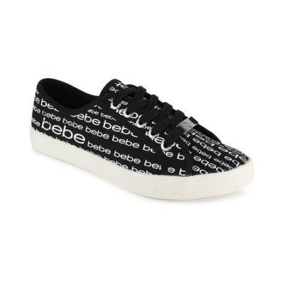 ベベ スニーカー シューズ レディース Women's Daylin Logo Sneaker Black