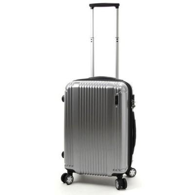 【全商品ポイント10倍】 BERMAS PRESTIGE II バーマス プレステージ2 4輪 スーツケース ハードキャリー ファスナー 34L 機内持込 TSAロック付 シルバー 60252-SV