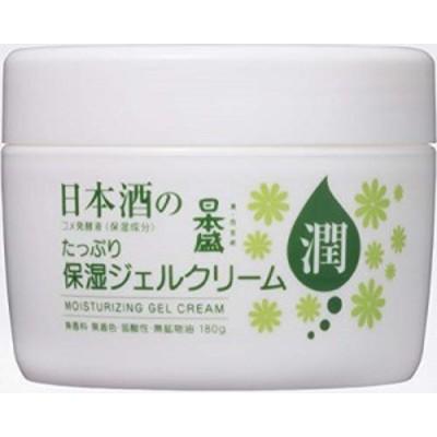 化粧品 保湿ジェル 日本盛 日本酒たっぷり保湿ジェルクリーム 180g1個 日本盛